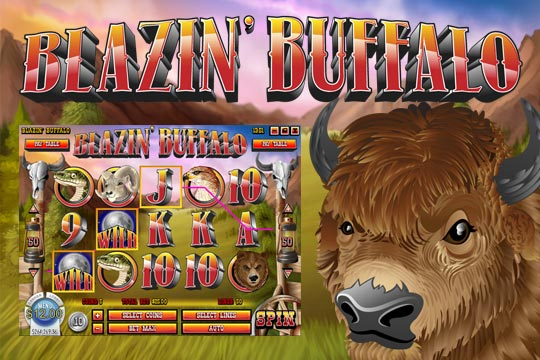 Blazin Buffalo Slot Machine