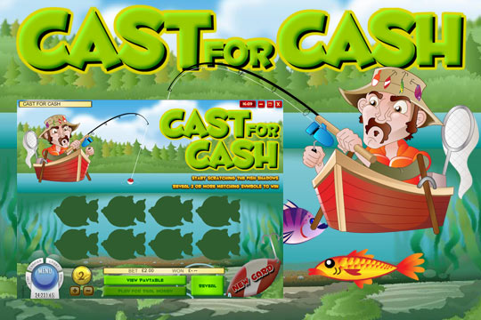 Cast For Cash Scratch Card