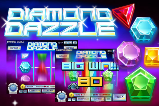 Diamond Dazzle 3 Reel Slot