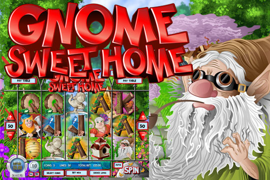 Gnome Sweet Home 5-Reel Slot