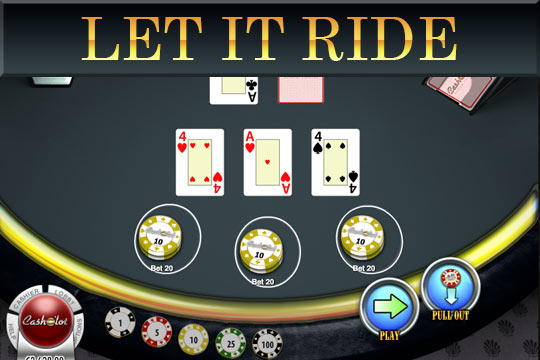 Let It Ride Table Game