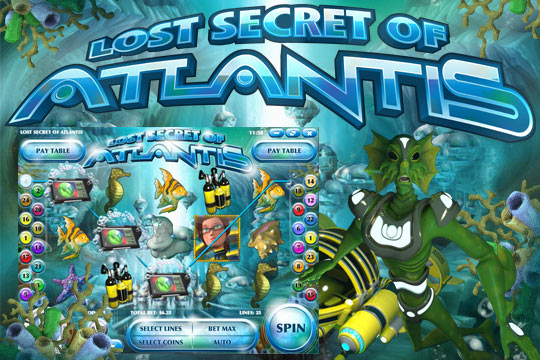 Lost Secrets Atlantis Slot Machine