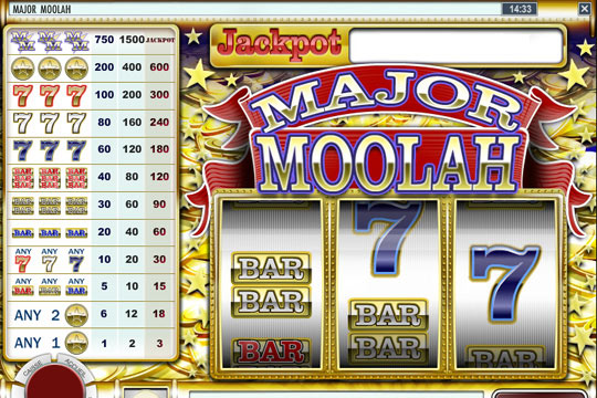 Major Moolah Progressive Slot