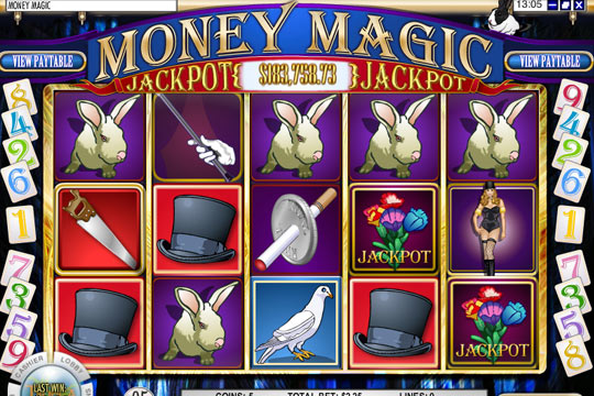 Money Magic Progressive Slot