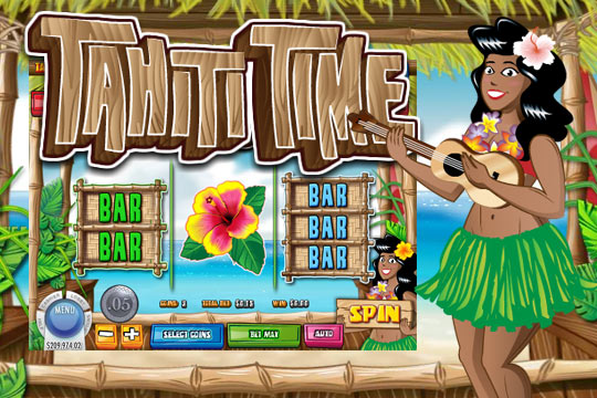 Tahiti Time Pokies Machine Online