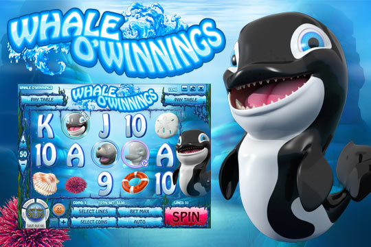 Whale Of Winnings Video Slot