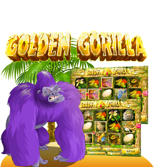 Golden Gorrila Online Casino Game