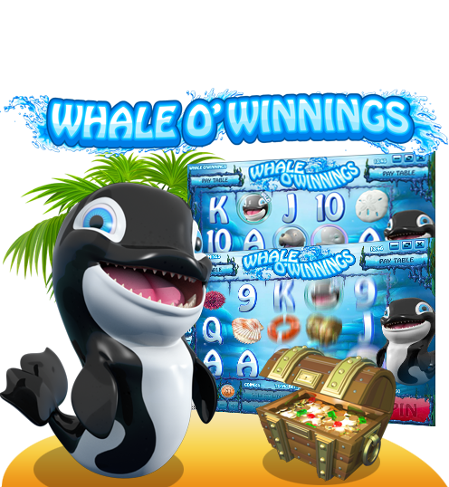 Whale-o-Winnings 50-Line Video Slot
